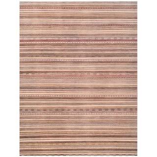 Herat Oriental Afghan Hand-knotted Vegetable Dye Gabbeh Wool Rug (9'9 x 12'9)