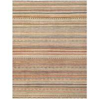Herat Oriental Afghan Hand-knotted Vegetable Dye Gabbeh Wool Rug (8'11 x 11'10)