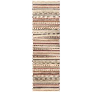 Herat Oriental Afghan Hand-knotted Vegetable Dye Gabbeh Wool Runner (2'9 x 9'5)