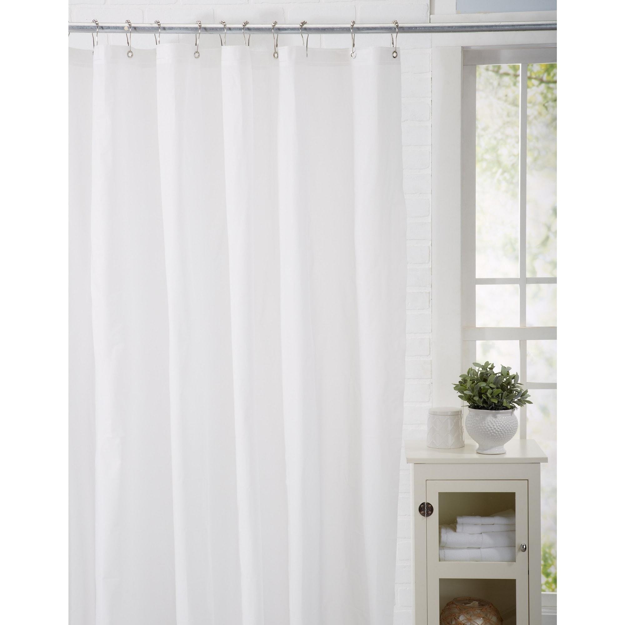 Shop Home Fashion Designs Peva 70x72 Shower Curtain Liner On Sale