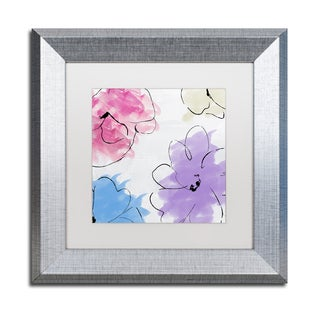 Color Bakery 'Kasumi four' Matted Framed Art