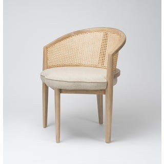 Eloise Transitional Cream Accent Chair
