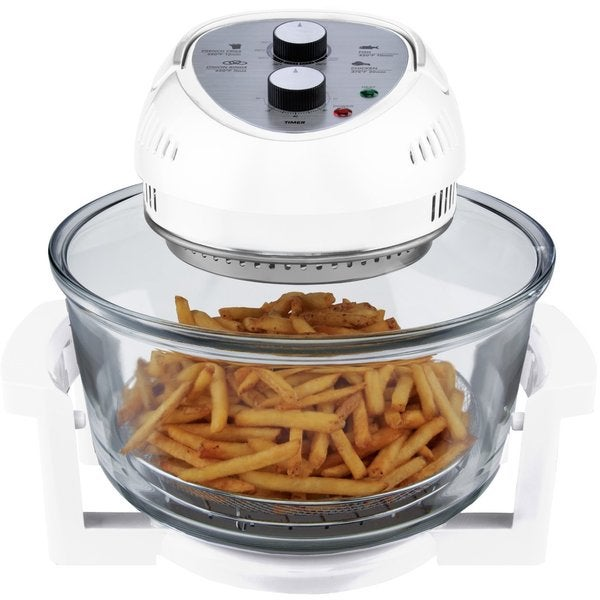 Shop Big Boss White Oil Less Air Fryer White Free Shipping Today Overstock 14960783