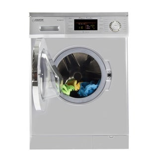 All-in-One 13 lbs 1200 RPM Compact Combo Washer Dryer with Optional Condensing/ Venting, Sensor Dry, Auto Water Level