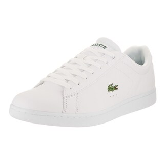 Lacoste Men's Carnaby Evo White Leather Casual Shoes