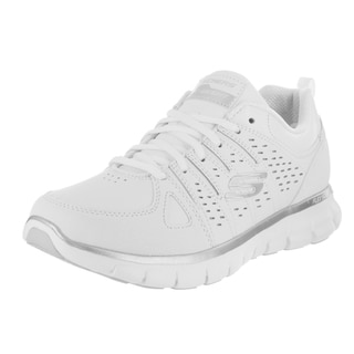 Skechers Women's Synergy Lady Luck White Wide-fit Casual Shoes