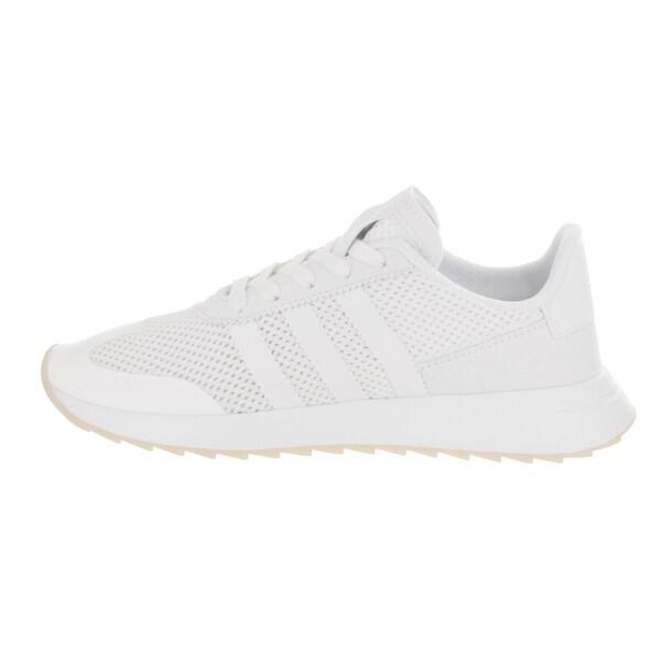 Adidas Women's FLB White Faux Leather