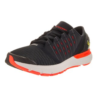 Under Armour Men's Speedform Europa Black Textile Running Shoe