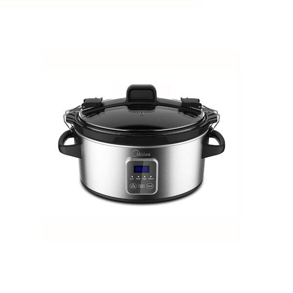 Midea MSC176TGDIP 6 QT Slow Cooker w/Warmer Crock