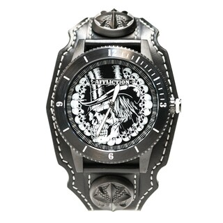 Affliction Gents Crystal Watch