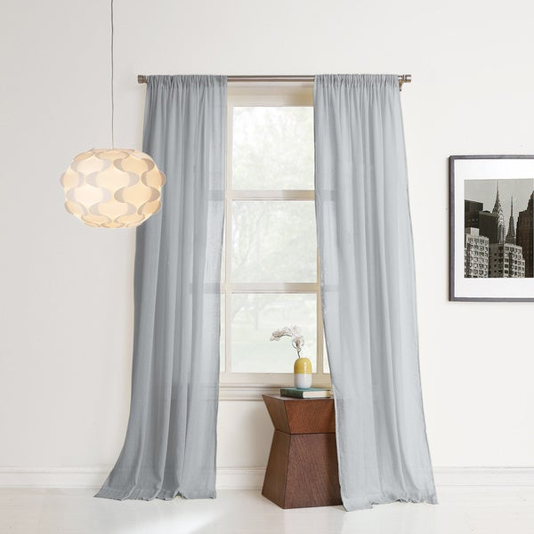 Shop No. 918 Hendricks Sheer Cotton Gauze Window Curtain
