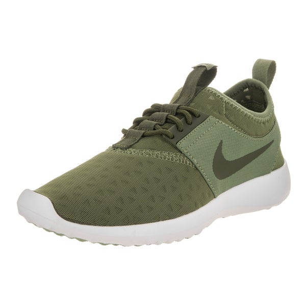 new arrival dd202 3830d where to buy nike womenx27s juvenate green synthetic leather running shoes  7a832 77f51