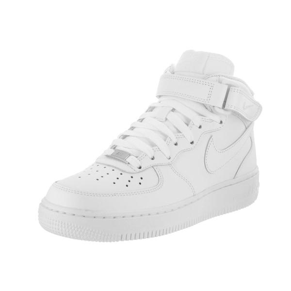 Shop Nike Women s Air Force 1 Mid  07 LE Basketball Shoes - Free ... 4317a3ebf1