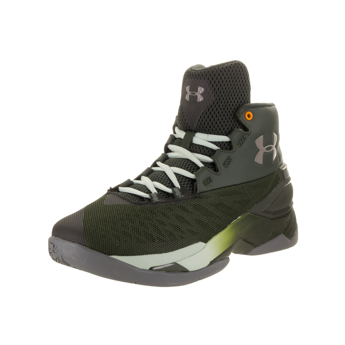 Under Armour Men's Longshot Green Basketball Shoe (12) (F...