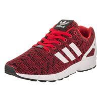 Adidas Men's ZX Flux Originals Red Fabric Running Shoe