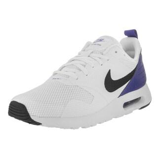 Nike Men's Air Max Tavas White Textile Running Shoe