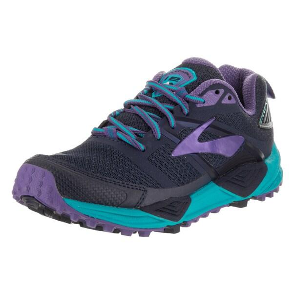 Purple Running Shoe - Overstock - 14973302