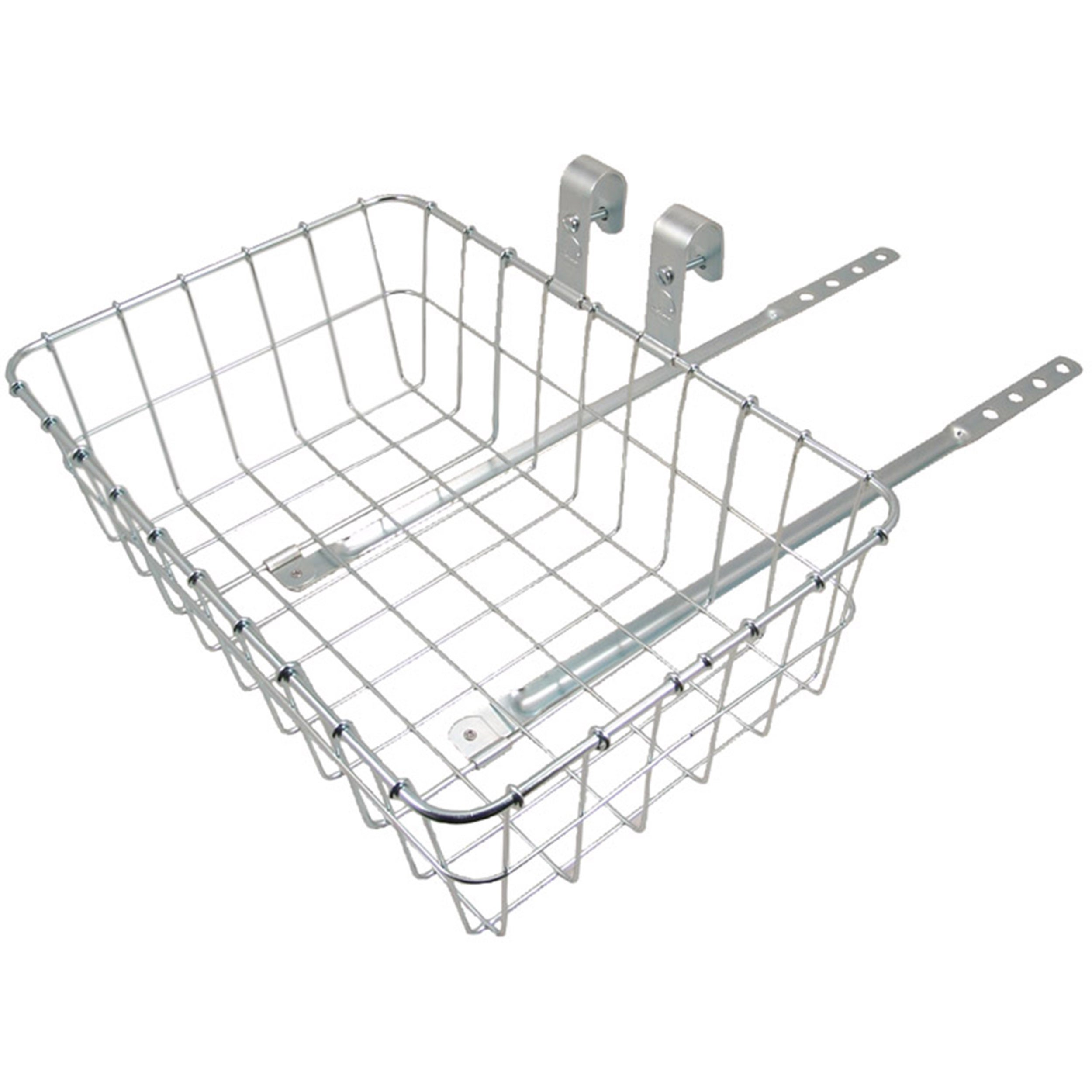 WALD 137 Front Basket (Silver)