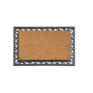A1HC First Impressions Coir/Rubber 24-inch x 36-inch Tray Mat