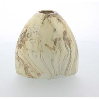 Majestic Vase With Marble Finish