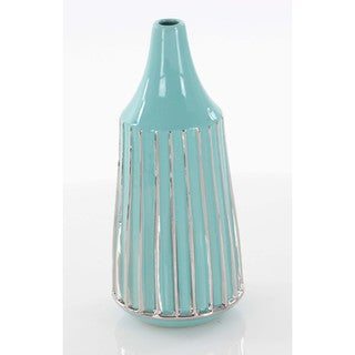 Magnificent Ceramic Vase With Glossy Finish
