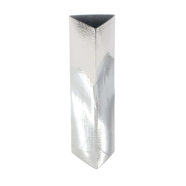 Shop Fulgent Stainless Steel Vase Free Shipping Today Overstock