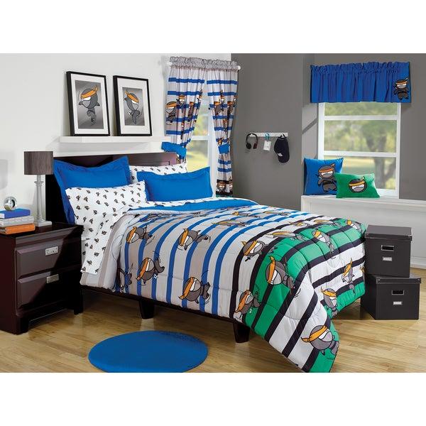 Ninja 3-piece Comforter Set