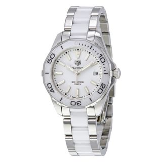 Tag Heuer Women's WAY131B.BA0914 'Aquaracer' Two-Tone Stainless steel and Ceamic Watch