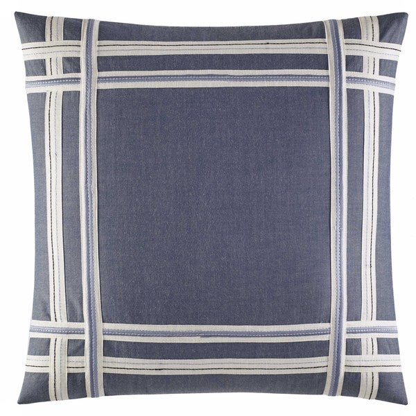c6e7f0cc00 Shop Nautica Fairwater Applique 18 Inch Decorative Throw Pillow - On Sale - Free  Shipping On Orders Over $45 - Overstock - 14986856
