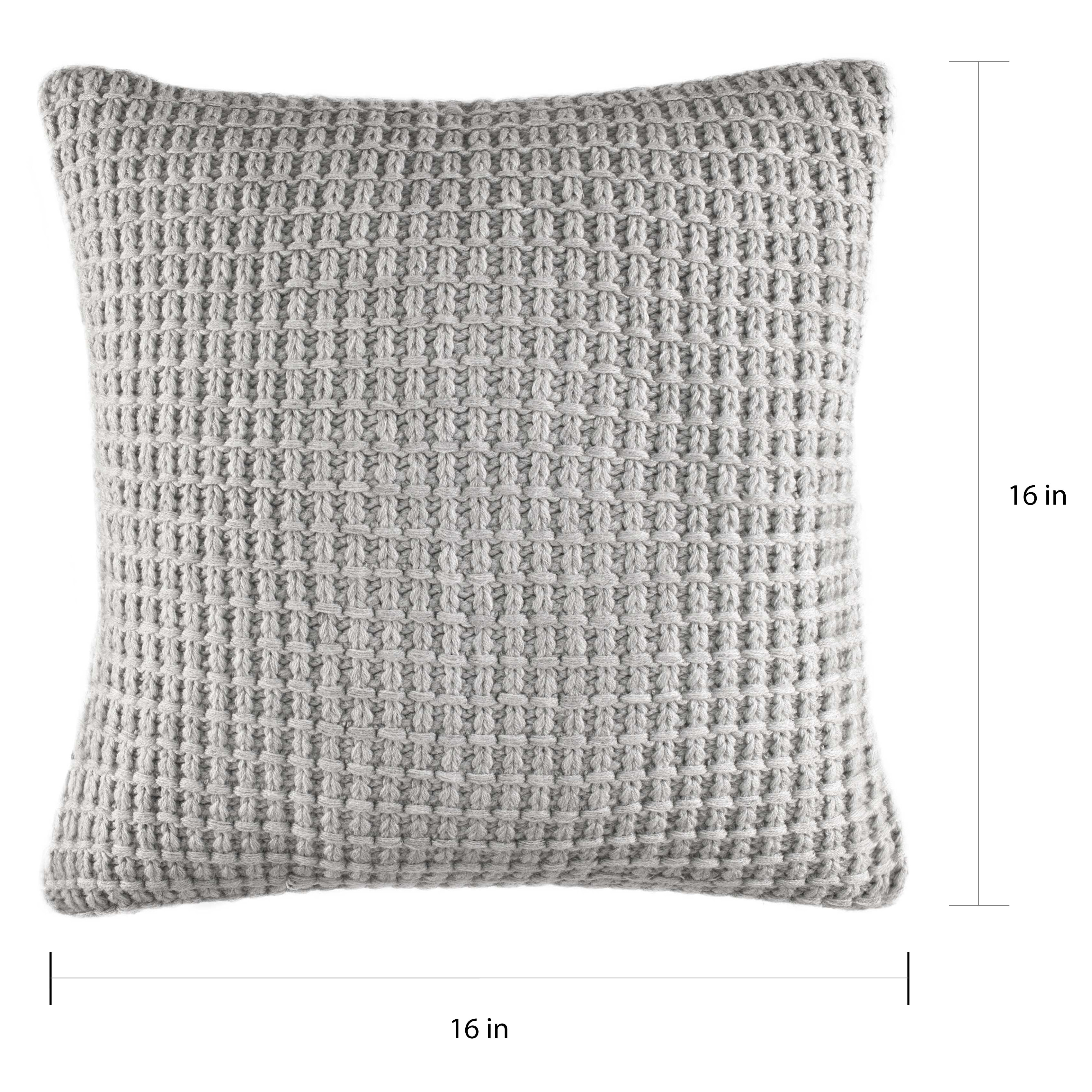 Nautica Fairwater Knit Throw Pillow On Sale Overstock 14986859