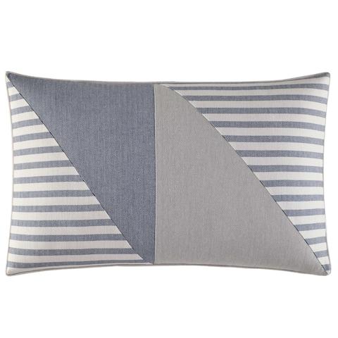 Nautica Fairwater Piecing Throw Pillow
