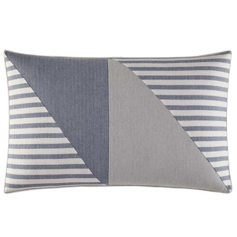 Nautica Fairwater Piecing Throw Pillow
