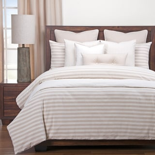 Siscovers Luxury Farmhouse Barley Cotton-Blend Cottage Down Alt Duvet Set
