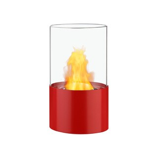 Ignis Circum Red Tabletop Ventless Ethanol Fireplace
