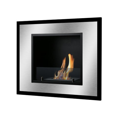 Ignis Bellezza Mini Wall Mounted / Recessed Ventless Ethanol Fireplace