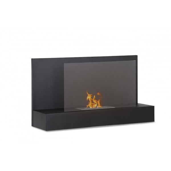 Ignis Ater BK Wall Mounted Ventless Ethanol Fireplace