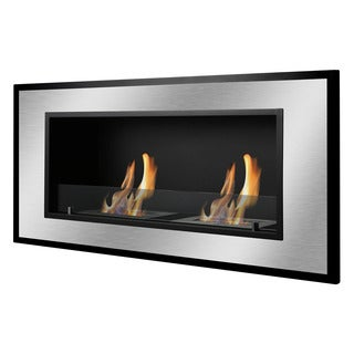Ignis Bellezza Wall Mounted / Recessed Ventless Ethanol Fireplace