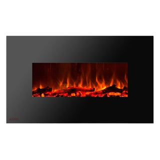 Ignis Royal 36 inch Electric Fireplace with Logs