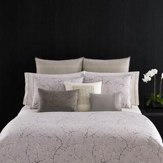Vera Wang Winter Blossoms Purple Breakfast Pillow