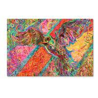 Josh Byer 'Soar' Canvas Art - Multi