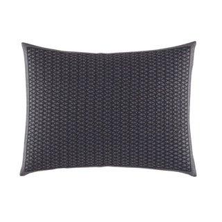 Vera Wang Scribble Print Dark Purple Breakfast Pillow (As Is Item)