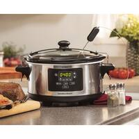 Recertified Hamilton Beach Set & Forget 6 Qt. Programmable Slow Cooker