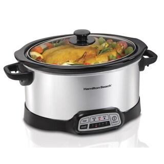 Recertified Hamilton Beach® 5 Qt Programmable Slow Cooker