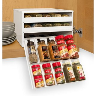 YouCopia Chefs Edition SpiceStack 30-Bottle Spice Organizer
