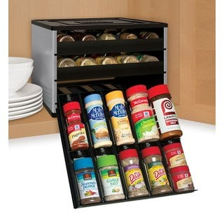 YouCopia Chefs Edition SpiceStack 30-Bottle Spice Organizer