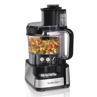 Recertified Hamilton Beach 12 Cup Stack & Snap Food Processor