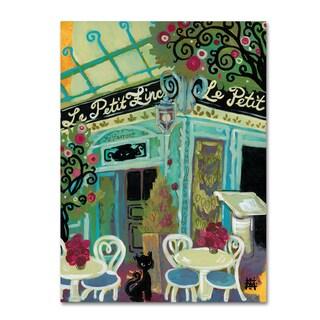Natasha Wescoat 'Le Petit Zinc' Canvas Art
