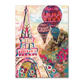Natasha Wescoat 'Ballons Sur Paris' Canvas Art