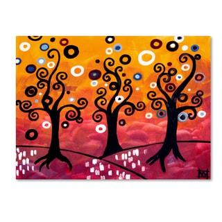 Natasha Wescoat '077' Canvas Art