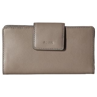 Fossil Emma RFID Grey Tab Clutch Wallet